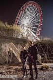 Shailene Woodley Theo James Ferris Wheel Divergent