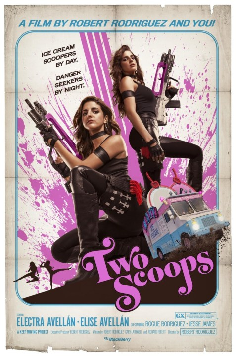 Two Scoops Short Film Poster