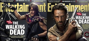Andrew Lincoln Norman Reedus The Walking Dead Entertainment Weekly Covers July 26 2013