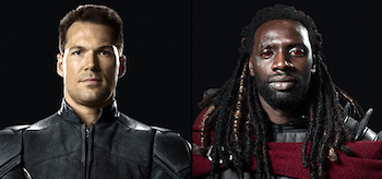 Daniel Cudmore Omar Sy X-Men Days Of Future Past