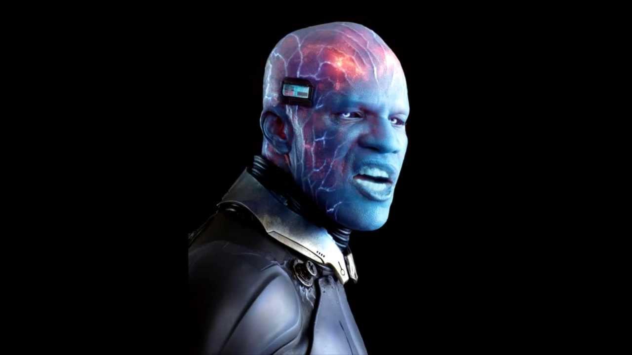 AMAZING SPIDER-MAN 2 (2014): Electro (Jamie Foxx) in ...  Jamie Foxx Electro Entertainment Weekly