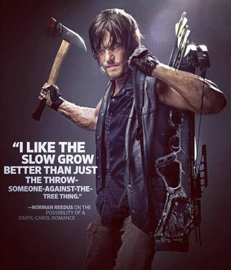 Norman Reedus The Walking Dead Entertainment Weekly July 26 2013