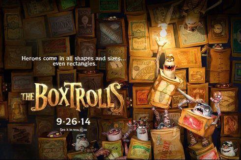 The Boxtrolls Quad Movie Poster
