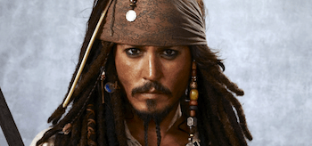 Johnny Depp Capatain Jack Sparrow