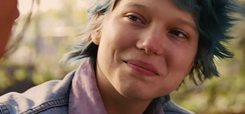 Léa Seydoux Blue is the Warmest Colour La vie d'Adèle