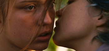 Adele Exarchopoulos Lea Seydoux Blue is the Warmest Color La vie d Adele