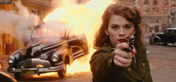 Hayley Atwell Agent Carter Captain America The First Avenger