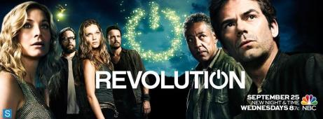 Revolution Season 2 TV show banner