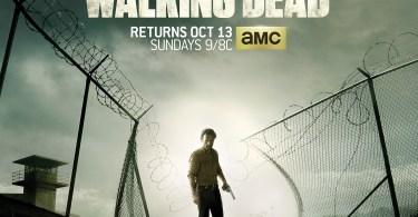 The Walking Dead Season 4 TV show poster
