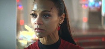 Zoe Saldana Star Trek Into Darkness