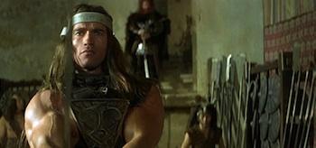 Arnold Schwarzenegger Conan the Barbarian