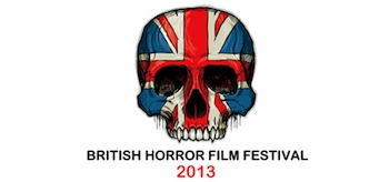 British Horror Film Festival 2013 Logo