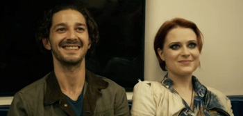 Shia LaBeouf Evan Rachel Wood Charlie Countryman