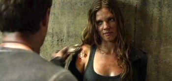 Tracy Spiridakos Revolution There Will Be Blood