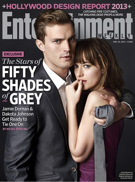 Jamie Dornan Dakota Johnson Entertainment Weekly Fifty Shades Of Grey November 22 2013 cover