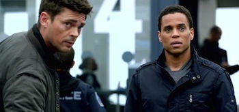 Michael Ealy Karl Urban Almost Human