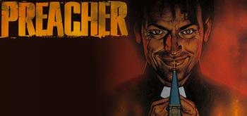Preacher Comic book Cover