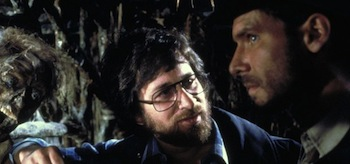 Steven Spielberg Harrison Ford Raiders of the Lost Ark