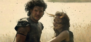 Emily Browning Kit Harington Pompeii