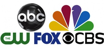 ABC The CW FOX NBC CBS