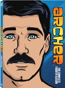 Archer The Complete Season Four Bluray