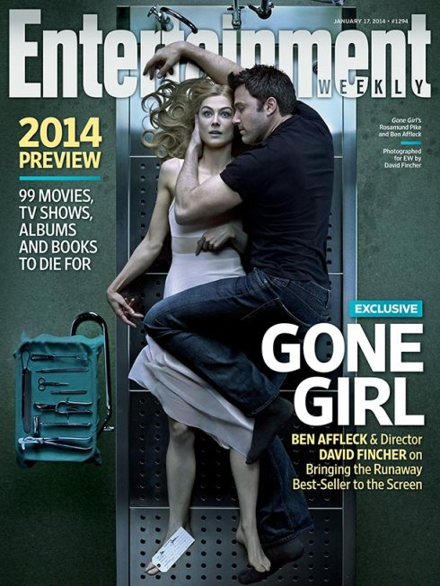Ben Affleck Rosamund Pike Gone Girl Entertainment Weekly cover January 2014