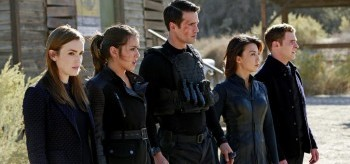 Elizabeth Henstridge, Chloe Bennet, Brett Dalton, Ming-na Wen, and Iain De Caestecker, Agents of S.H.I.E.D., The Magical Place