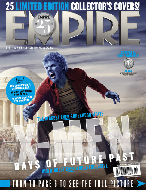 X-Men: Days of Future Past Empire cover 07 Beast