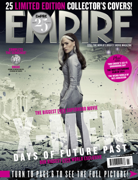 X-Men: Days of Future Past Empire cover 17 Rogue