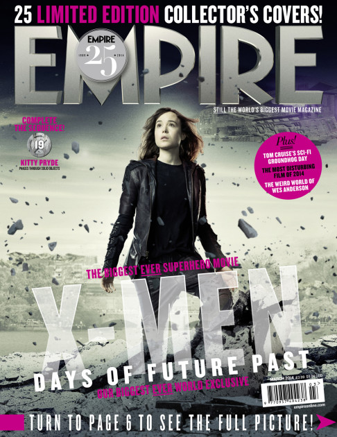 X-Men: Days of Future Past Empire cover 19 Kitty Pryde