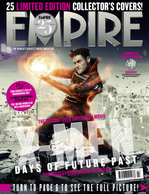 X-Men: Days of Future Past Empire cover 20 Sunspot