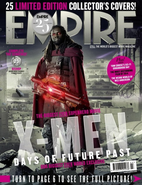 X-Men: Days of Future Past Empire cover 23 Bishop