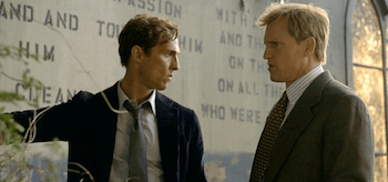Matthew McConaughey Woody Harrelson True Detective Seeing Things