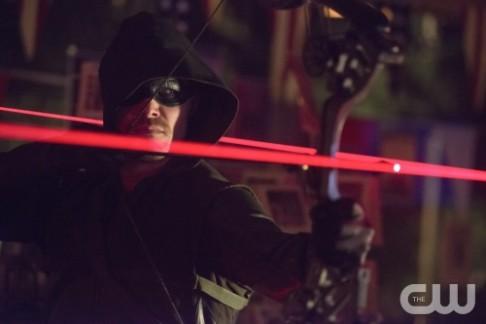 Stephen Amell Arrow Blast Radius