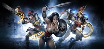Wonder Woman Infinite Crisis variants