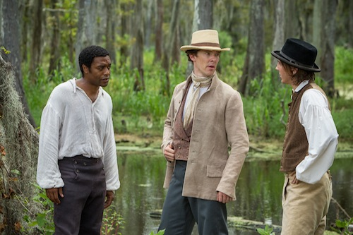 Chiwetel Ejiofor Benedict Cumberbatch Paul Dano 12 Years a Slave