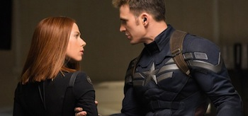 Chris Evans Scarlett Johansson Captain American: The Winter Soldier