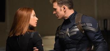 Chris Evans Scarlett Johansson Captain American: The Winter Soldier