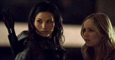 Katrina Law Caity Lotz Arrow Heir to the Demon