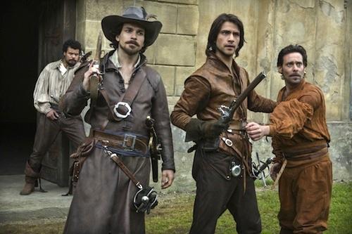 Luke Pasqualino James Callis Santiago Cabrera The Musketeers Commodities