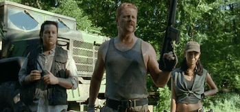 Michael Cudlitz Josh McDermitt Christian Serratos The Walking Dead Inmates