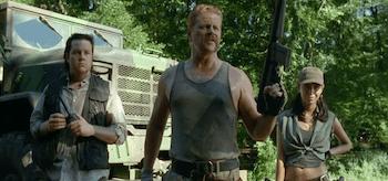 Michael Cudlitz Josh McDermitt Christian Serratos The Walking Dead Inmates