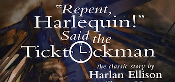 Repent Harlequin Said The Ticktock Man Cover