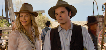 Seth MacFarlane Charlize Theron A Million Ways to Die in the West