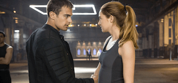 Shailene Woodley Theo James Divergent
