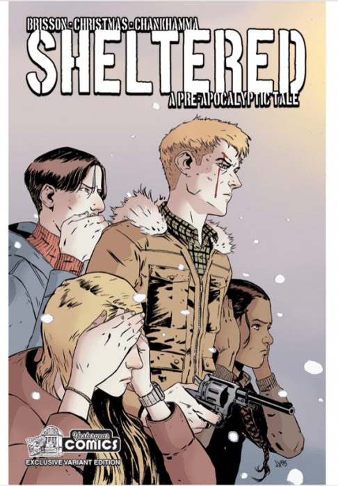 Sheltered #1 variant cover