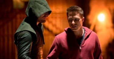 Stephen Amell Colton Haynes Arrow Tremors