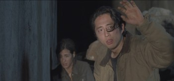 Alanna Masterson Steven Yeun The Walking Dead Us