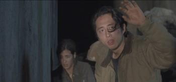 Alanna Masterson Steven Yeun The Walking Dead Us
