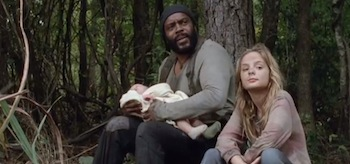 Chad L Coleman Brighton Sharbino The Walking Dead The Grove